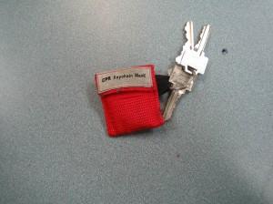 Keychain Pocket Mask