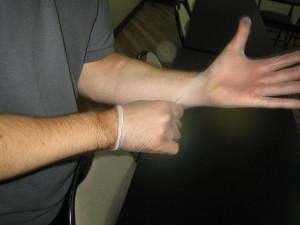 Barrier device - gloves