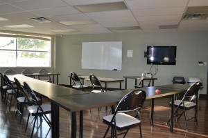 Red Deer First Aid lecture room