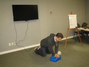 "CPR level ""A"" training"