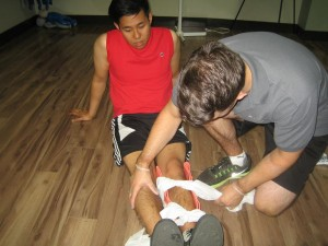 Standard First Aid and CPR Training in Windsor