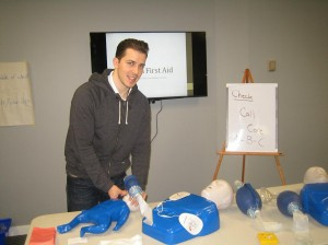 Standard First Aid and CPR Training in Lethbridge